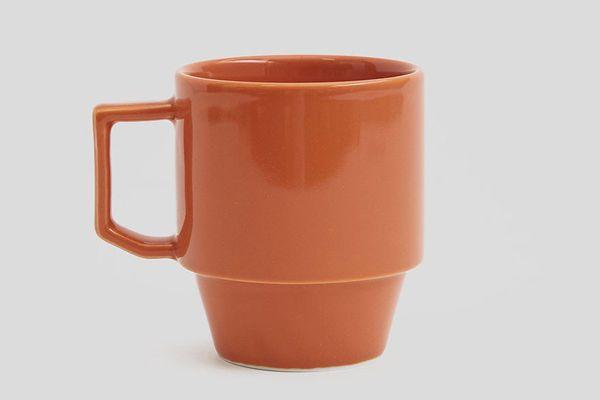 Maruhiro Block Mug in Orange