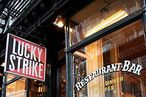 Lucky Strike in Soho.