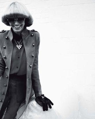Ragnhild Jevne for <em>Glamour Italia</em>.