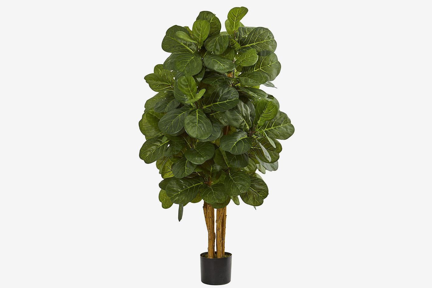 Nearly Natural 4' Fiddle Leaf Fig Artificial Tree