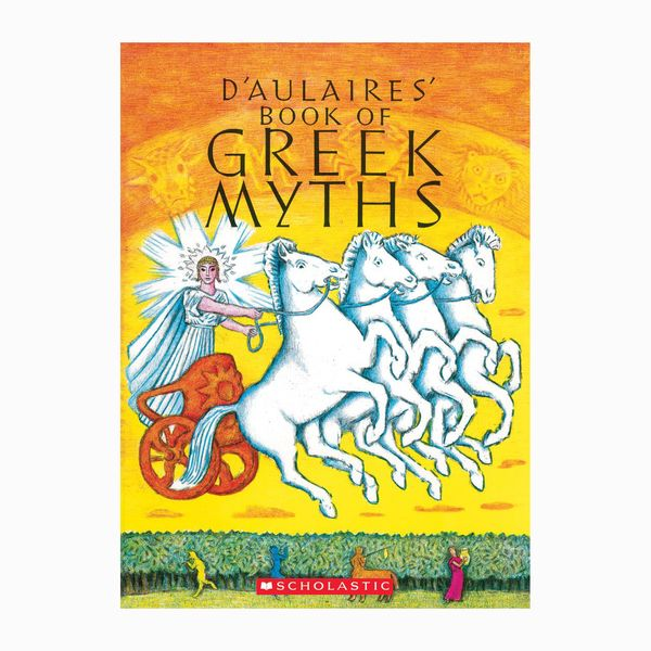 D'Aulaire's Book of Greek Myths by Ingri D'Aulaire, Edgar Parin D'Aulaire, narr. Paul Newman, Sidney Poitier, Kathleen Turner, Matthew Broderick