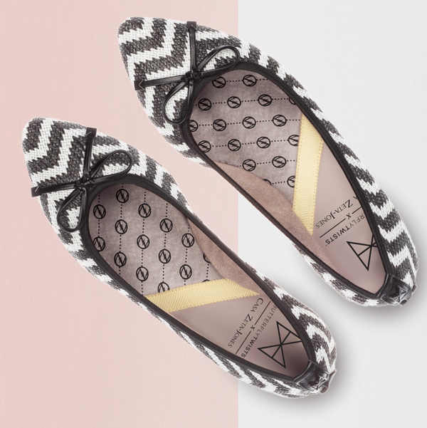 Casa Zeta-Jones x Butterfly Twists Annie Crafted Woven Textile Shoes