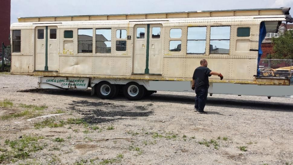 Original Subway Car From 1935 for Sale on eBay, Should You Be in ...