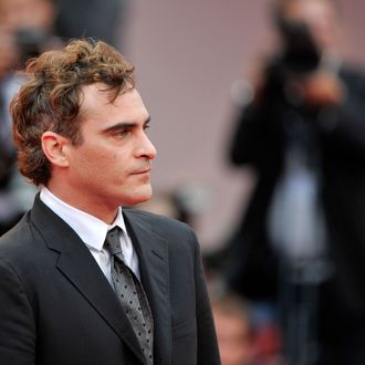 Actor Joaquin Phoenix attends