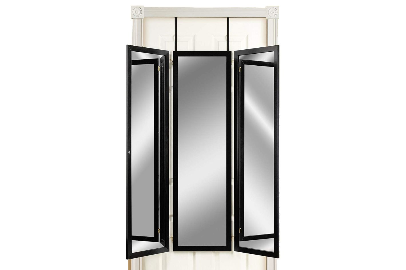 Mirrotek Triple View Professional Over the Door Dressing Mirror With 4 Mirrors