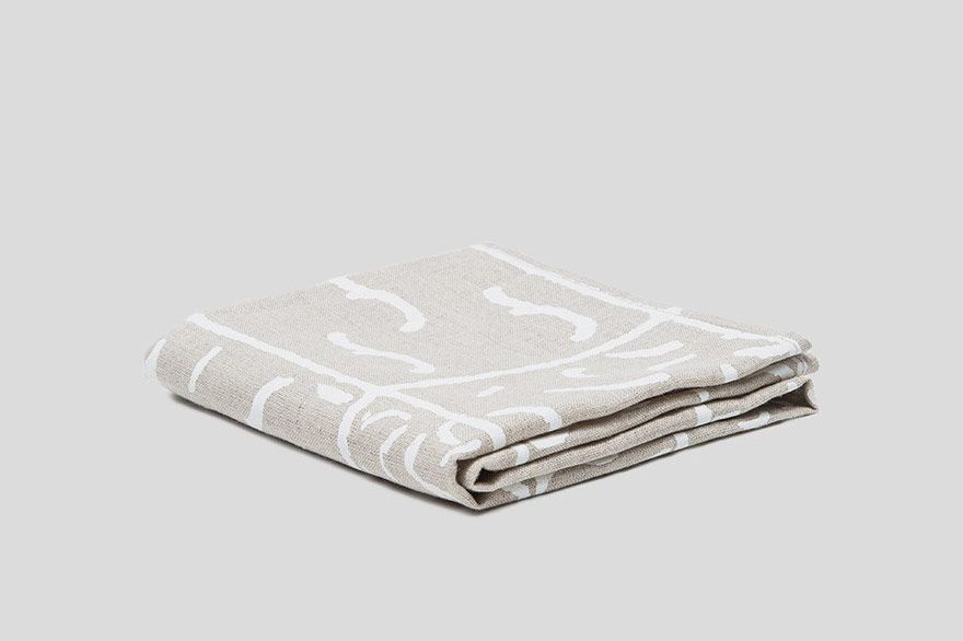 Linen Printed Tea Towel