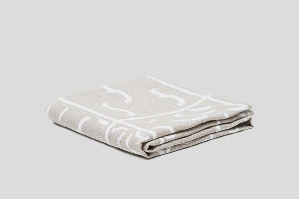 Linen Printed Tea Towel