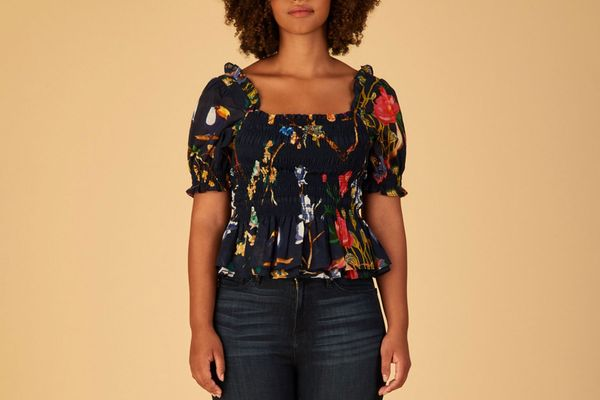 Tanya Taylor Emilia Top Extended Sizes