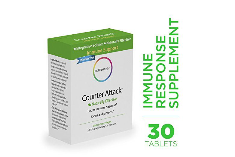 Counter Attack — Vitamin C and Zinc Supplement, 30 Tablets