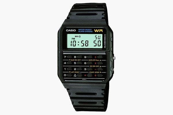 Casio 'Databank' Quartz-Resin Casual Watch