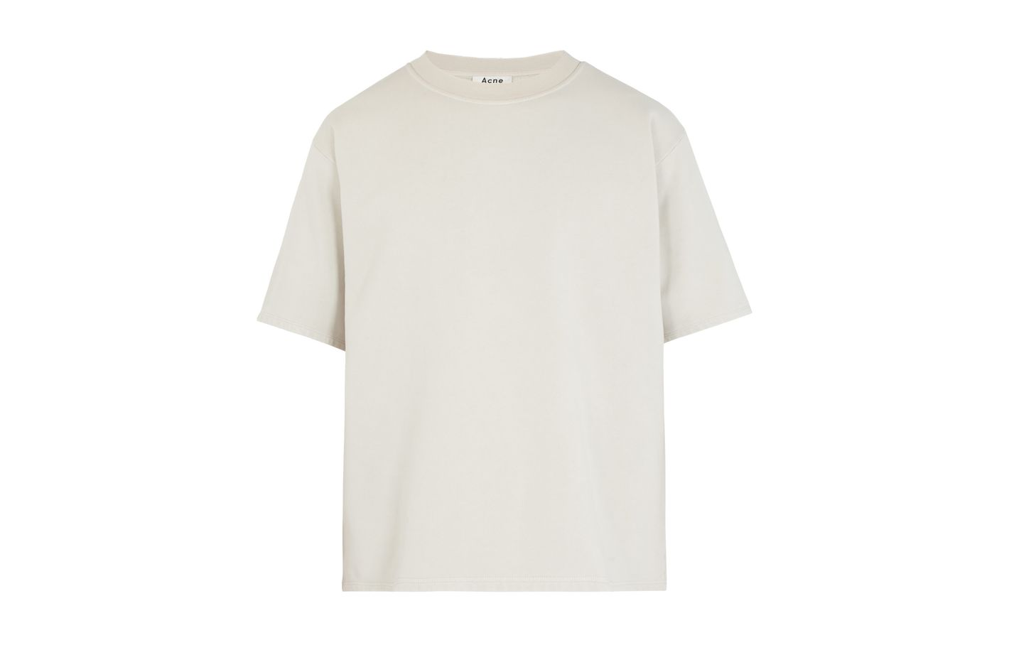 Acne Studios Finchley Fleece-Lined Short-Sleeved sweatshirt