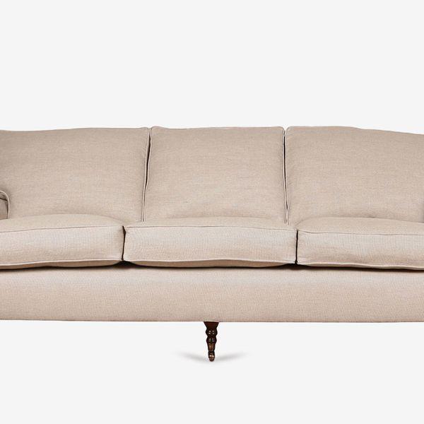 George Smith Signature Standard Arm Cushion Back Sofa