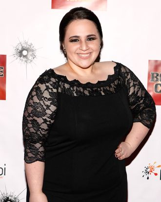 Actress Nikki Blonsky attends the Broadway opening night of