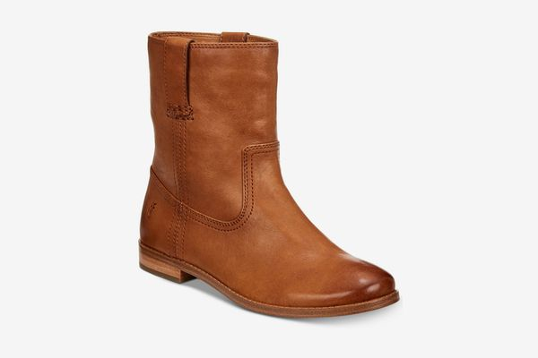 Frye Women's Anna Short Booties, Camel
