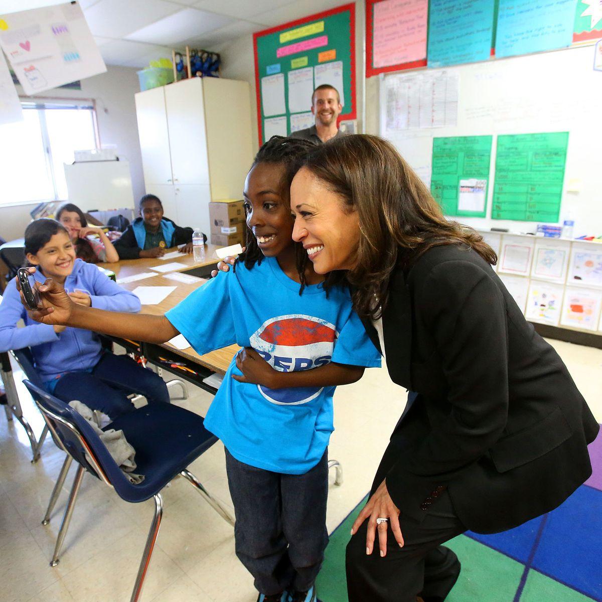 Harris Admits Evil Neoliberal Scheme To Educate Poor Kids