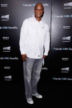 "NEW YORK, NY - JULY 18:  Former baseball player Darryl Strawberry attends the ""Friends with Benefits"" premiere at Ziegfeld Theater on July 18, 2011 in New York City.  (Photo by Jemal Countess/Getty Images)"