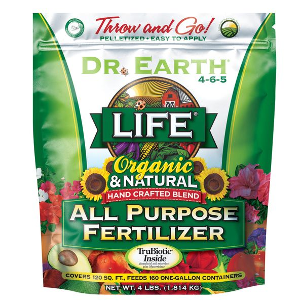 Dr. Earth Organic and Natural Life All Purpose Fertilizer