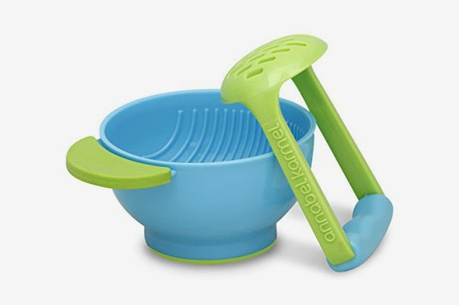 NUK Mash and Serve Bowl for Making Homemade Baby Food