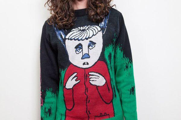 Wah Wah X Dinosaur Jr. Knitted Jumper