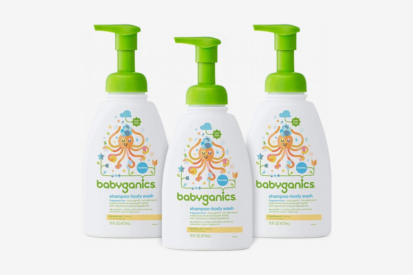 Babyganics Fragrance-Free Shampoo and Body Wash