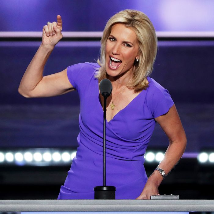 Laura Ingraham: Laura Ingraham Called Hillary Clinton The 'Man-Bun' Of