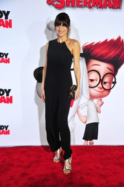 "Actress Lake Bell arrives at the Premiere of Twentieth Century Fox and DreamWorks Animation's ""Mr. Peabody & Sherman"" at Regency Village Theatre on March 5, 2014 in Westwood, California."