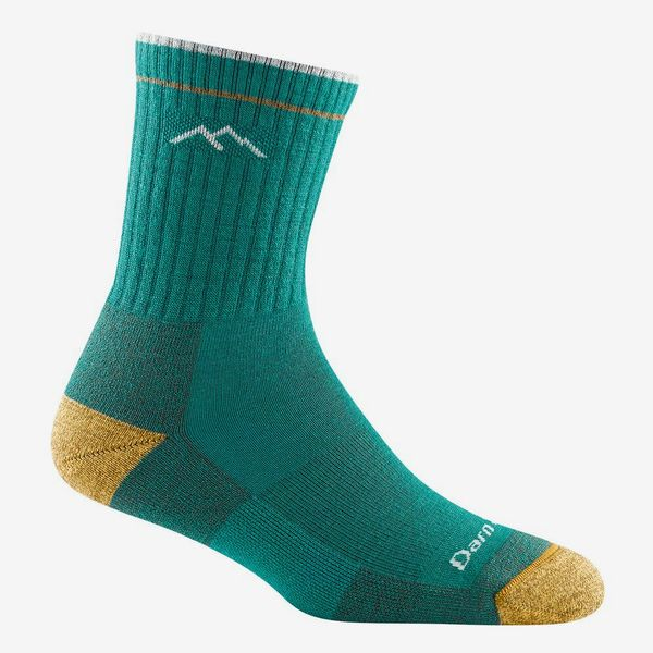 Darn Tough Hiker Micro Crew Cushion Sock - Women's, Teal
