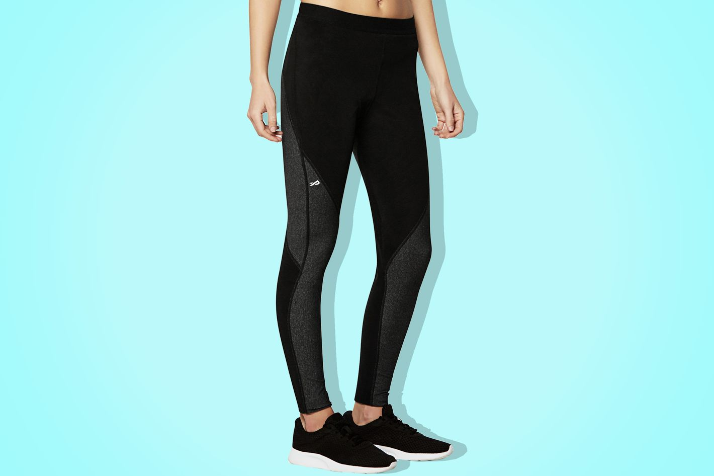 physiclo pro resistance tights in black - strategist best fitness gear and best resistance leggings for women