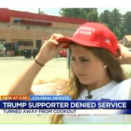 Trump Supporters Say Restaurant Workers Yelled 'Hell No!,' Then Refused Them Service