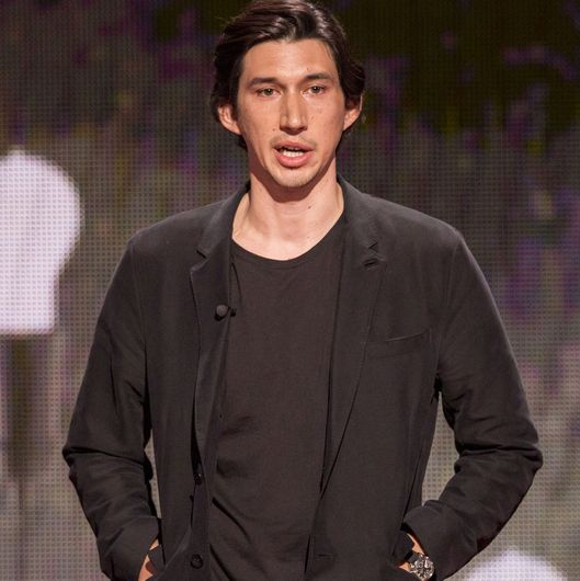 Adam Driver speaks at TED Talks Live - War and Peace, November 3-4, 2015, The Town Hall, New York, NY. Photo: Ryan Lash/TED