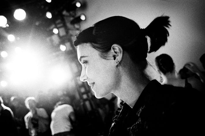 Rooney Mara at Rodarte, New York.