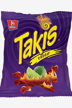 Takis Fuego, Hot Chili Pepper & Lime Flavored Tortilla Chips, 4 Oz