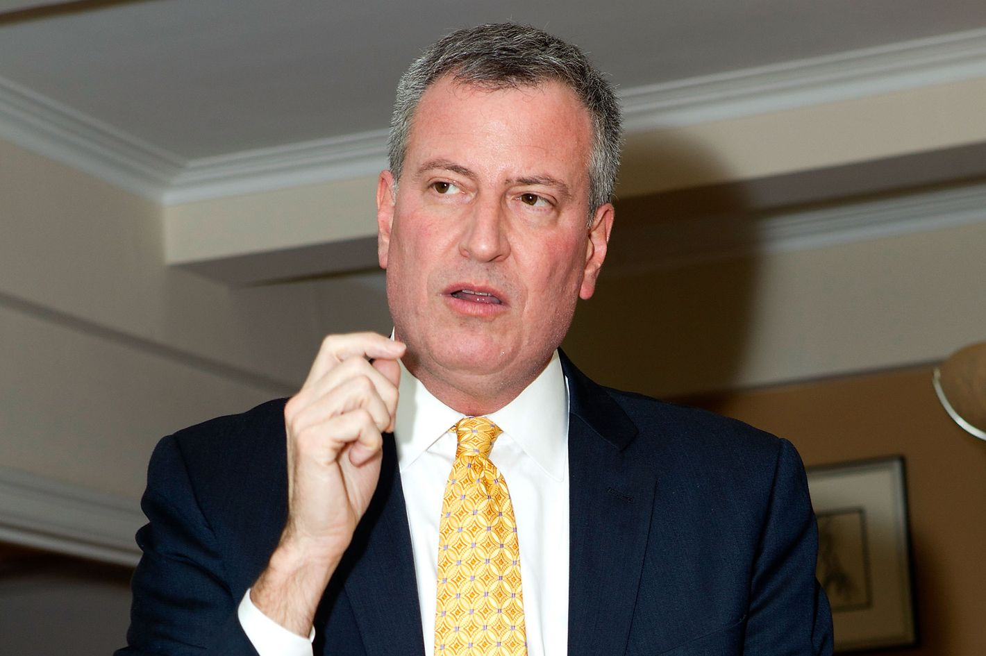 NEW YORK, NY - JANUARY 03:  Bill de Blasio attends the Bill De Blasio fundraiser on January 3, 2013 in New York City.  (Photo by Steve Mack/Getty Images)