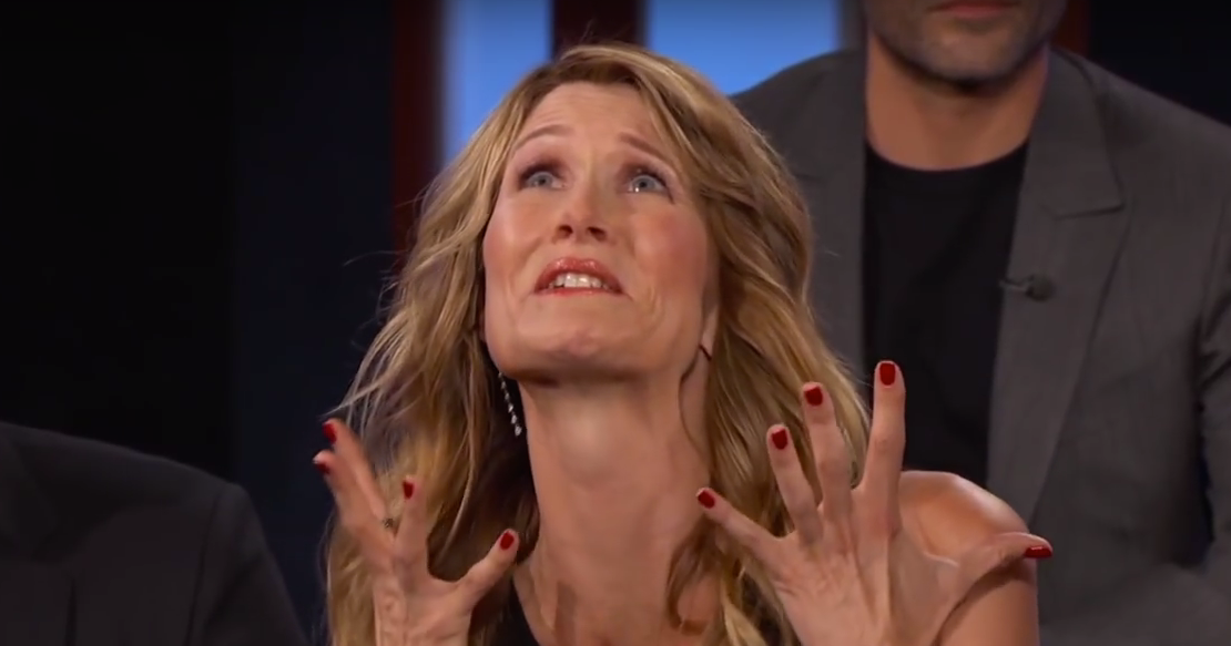 Laura Dern Fangirling About Meeting Chewbacca Will Make Your Day