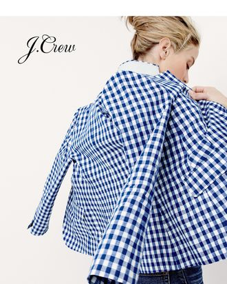 Carolyn Murphy, photographed for J.Crew's spring collection.