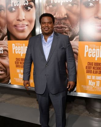 HOLLYWOOD, CA - MAY 08: Craig Robinson arrives at the premiere of 'Peeples' presented by Lionsgate Film and Tyler Perry at ArcLight Hollywood on May 8, 2013 in Hollywood, California. (Photo by Jason Merritt/Getty Images)