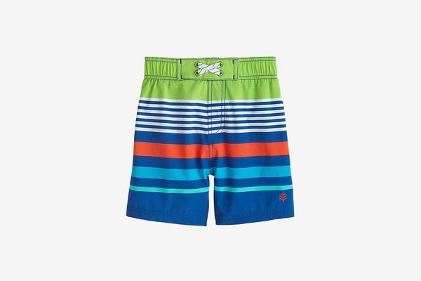 Coolibar UPF 50+ Baby Boys' Island Swim Trunks