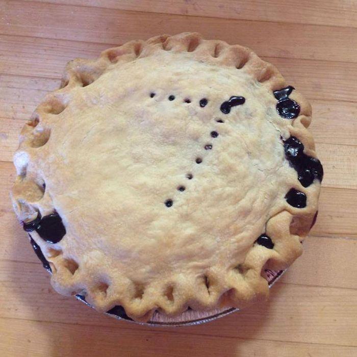 The famous pie.