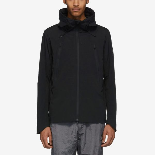 Descente Allterrain Black Schematech Air Hooded Jacket