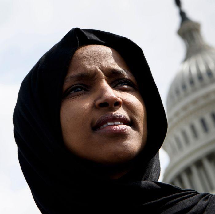 Representative Ilhan Omar.