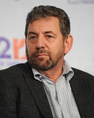 James Dolan attends the 12-12-12 Press Conference at Madison Square Garden on December 7, 2012 in New York City.