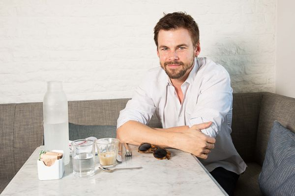 Actor Tommy Dewey Is Not Afraid of Back-to-Back Brunches