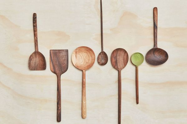 Simple Walnut Spoons