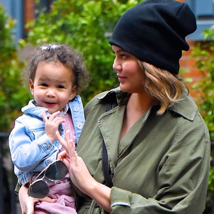 Chrissy Teigen On Parenting Luna Being Pregnant And Ivf