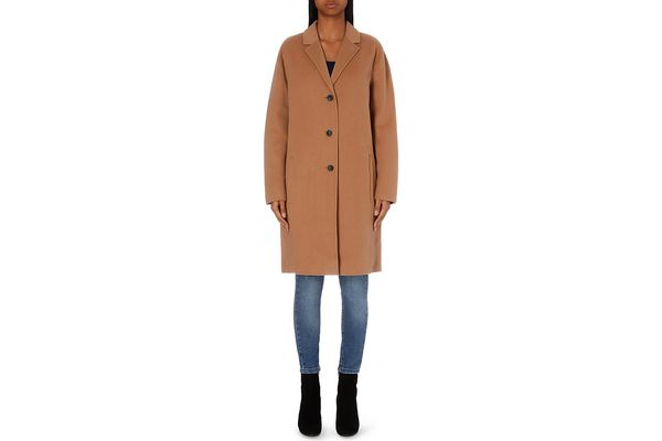 The Kooples Longline Wool Coat