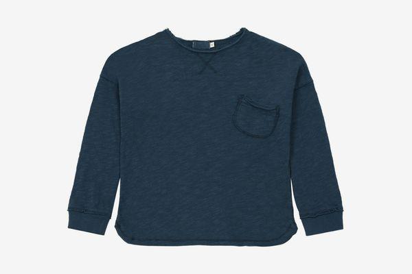 Buho Jim T-shirt Midnight Blue