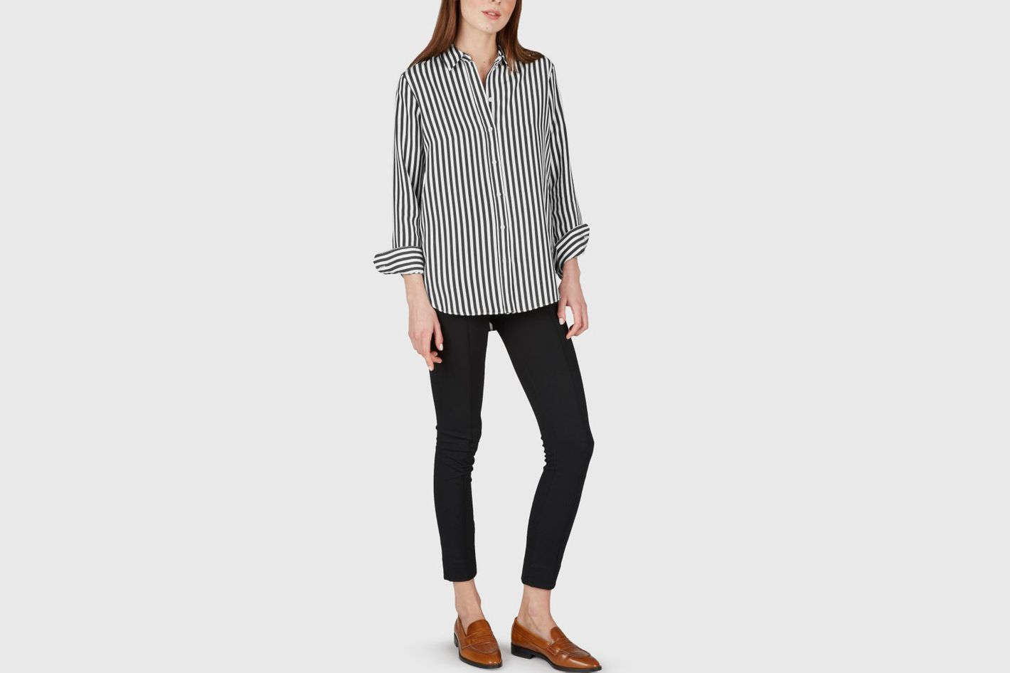 Relaxed Silk Shirt