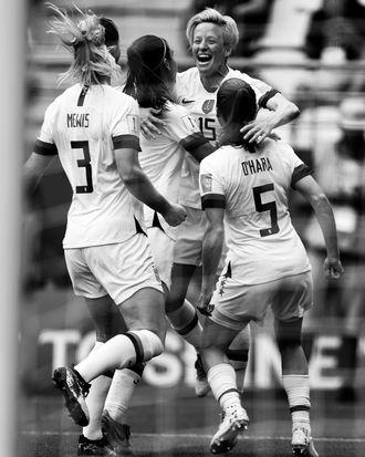 U.S. women's national soccer team.