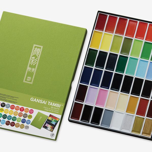 Kuretake Gansai Tambi Watercolor, Set of 48