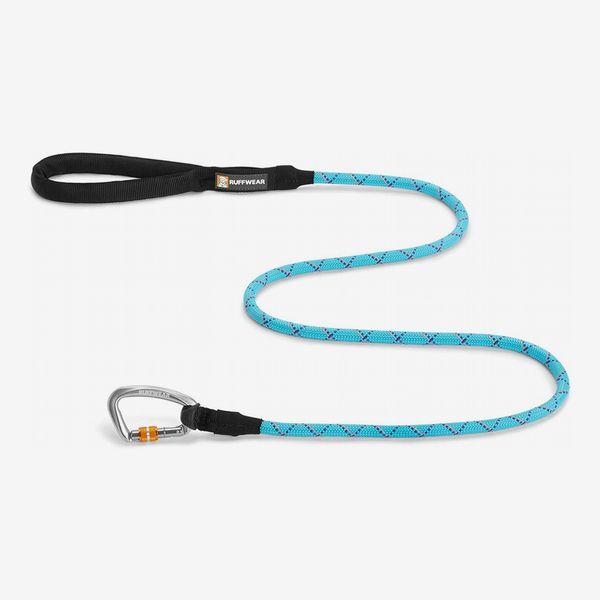 Laisse réfléchissante pour chien Ruffwear Knot-a-Leash avec mousqueton à verrouillage sécurisé